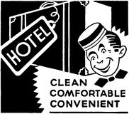 Hotel Clean Comfortable Royalty Free Stock Photography