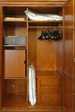 Hotel closet Royalty Free Stock Photo