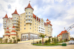 The hotel complex Bogatyr Stock Image