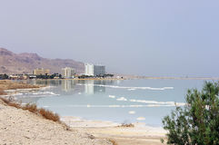 Hotel complex at the Dead Sea, Israel Royalty Free Stock Photos
