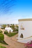Hotel complex Egypte Stock Afbeeldingen