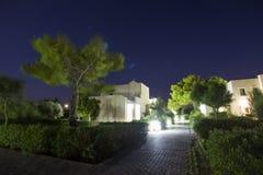 Hotel complex in Griekenland Royalty-vrije Stock Afbeeldingen