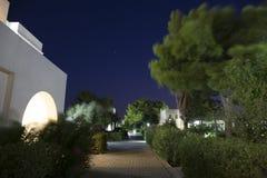 Hotel complex in Griekenland Royalty-vrije Stock Afbeelding