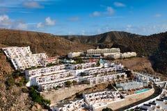 Hotel complex Puerto Rico, Gran Canaria Stock Photos