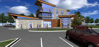 Hotel concept Stock Photo