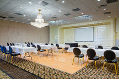 Hotel Conference Meeting Room Royalty Free Stock Image