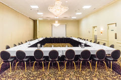 Hotel Conference Room Royalty Free Stock Photography