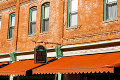 Hotel Connor Jerome. Jerome, AZ USA - October 16, 2016: The historic Hotel Connor is a popular tourist destination in this trendy small mountain town overlooking Stock Photography