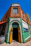 Hotel Connor Jerome. Jerome, Arizona USA - April 27, 2017: The historic Hotel Connor is a popular tourist destination in this trendy small mountain town stock image