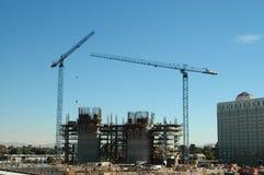 Hotel construction Stock Image