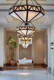 Hotel coridor Stock Images