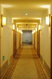 Hotel corridor  Royalty Free Stock Image