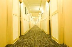 Hotel corridor Stock Photos