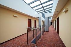 Hotel corridor Royalty Free Stock Photos