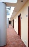 Hotel corridor royalty free stock photo