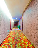 Hotel corridor Royalty Free Stock Images