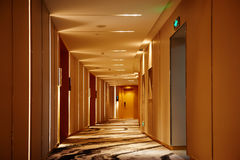 Hotel corridor lobby Stock Photography