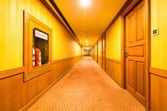 Hotel corridor interior Royalty Free Stock Photo