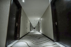 Hotel corridor Royalty Free Stock Photography
