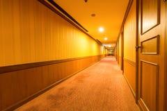 Hotel corridor interior Royalty Free Stock Photography