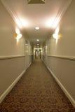 A hotel corridor Royalty Free Stock Photo