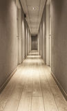 Hotel corridor Royalty Free Stock Photos