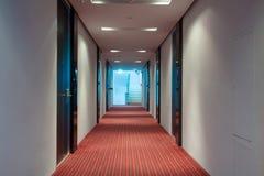 Hotel corridor Stock Photography