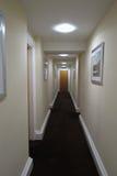 Hotel corridor perspective in Newcastle upon Tyne Stock Photos