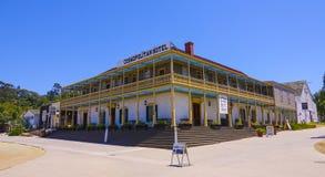 Hotel cosmopolita en el parque de San Diego Old Town State Historic - SAN DIEGO/CALIFORNIA - 21 de abril de 2017 Imagen de archivo