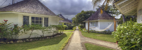 Hotel cottages in Jamaica Stock Photo