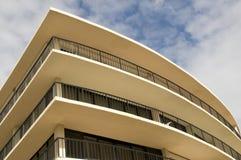 Hotel curvo Fotografie Stock Libere da Diritti