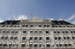 HOTEL D'Angleterre Stock Photography