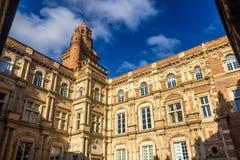 Hotel d'Assezat in Toulouse lizenzfreie stockfotografie