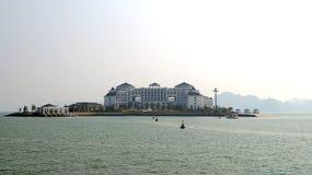 Hotel da ilha Fotos de Stock Royalty Free