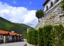 Hotel da montanha Imagem de Stock