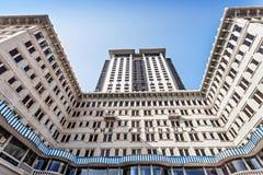 Hotel da península Foto de Stock Royalty Free