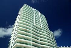 Hotel da praia Imagens de Stock Royalty Free