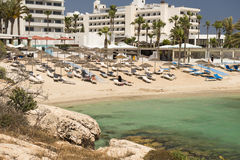 Hotel da praia de Adams Fotos de Stock Royalty Free