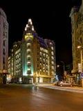 Hotel da união, Bucareste, Romênia Imagem de Stock