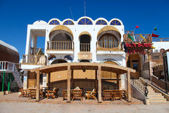 Hotel in Dahab Royalty Free Stock Images