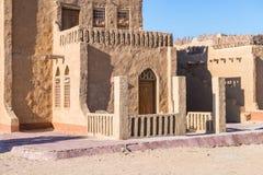 Hotel in Dakhla, Egypt. Stock Photo