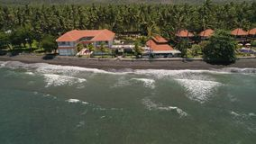 Hotel dal mare Indonesia, Bali stock footage