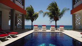 Hotel dal mare Indonesia, Bali video d archivio