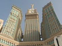 HOTEL DE ABRAJ AL-BAIT EM MEKKAH ARÁBIA SAUDITA imagens de stock royalty free