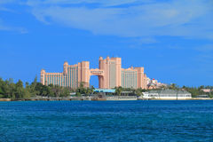 Hotel de Atlantis em Bahamas Fotos de Stock Royalty Free