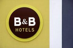 Hotel de B y de B Fotografía de archivo