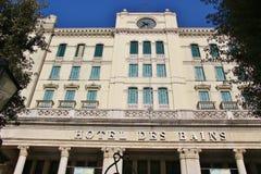 Hotel de Bains, Lido Di Venezia, Ιταλία στοκ φωτογραφία με δικαίωμα ελεύθερης χρήσης