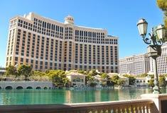 Hotel de Bellagio em Las Vegas Foto de Stock Royalty Free