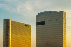 Hotel de Borgata & casino e o hotel do clube da água Imagem de Stock