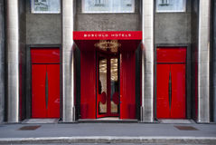 Hotel de Boscolo Exedra em Milão Imagens de Stock
